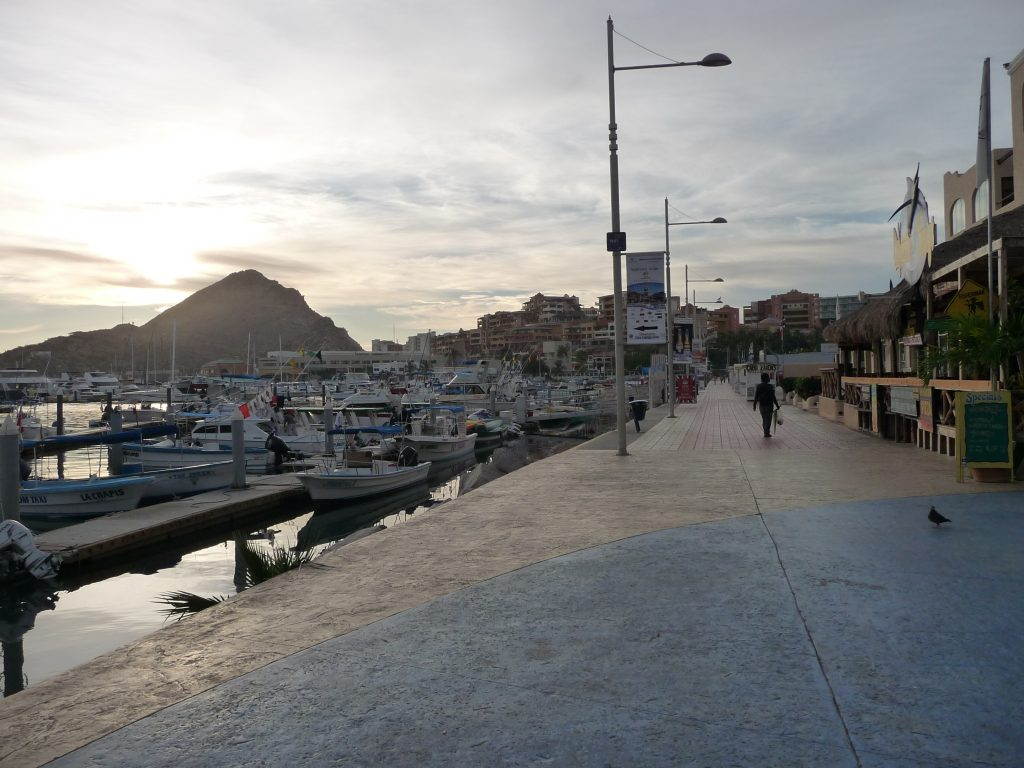 Cabo San Lucas Marina is ideal for working on Character Development