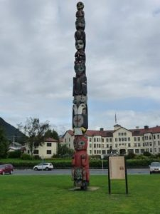 Totem Pole at Totem Square