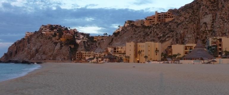Cabo San Lucas coastline looking toward Pedregal