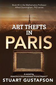 Cover for Art Thefts in PARIS novel