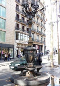 Legend has it that one drink from the black and gold ornate Fountain of Canaletes ensures that one day you'll return to Barcelona